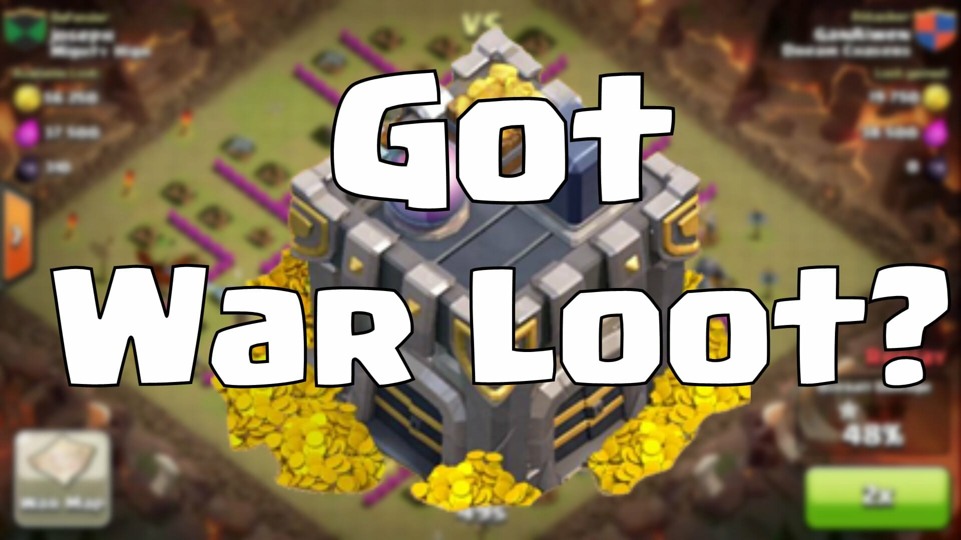 Clash of Clans, Clash of Clans Update, Clash of Clans War Loot