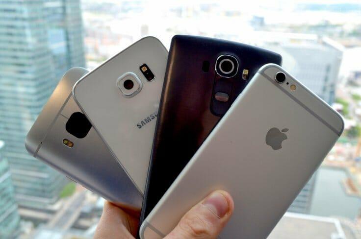 iPhone 7, Samsung Galaxy S7, HTC One M10