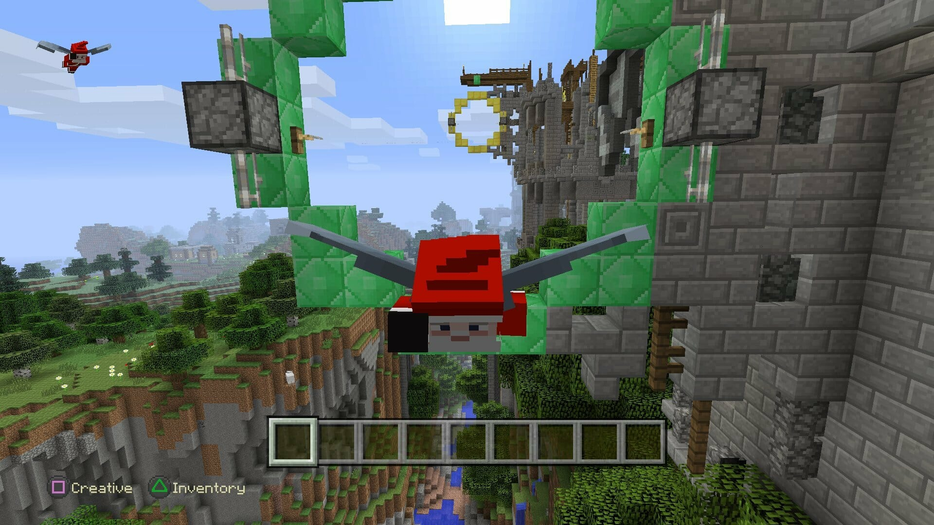 Minecraft Update for PS4 and Xbox One with New Terrain and Elytra