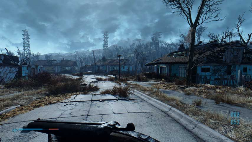 fallout 4 update adds an advanced level of visuals for pc