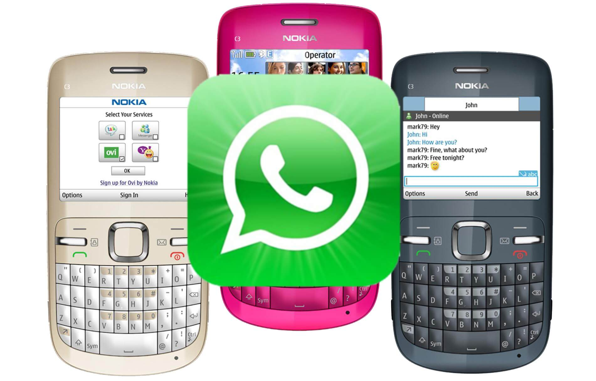 Whatsapp for nokia 3310 can be downloaded omg! Youtube.
