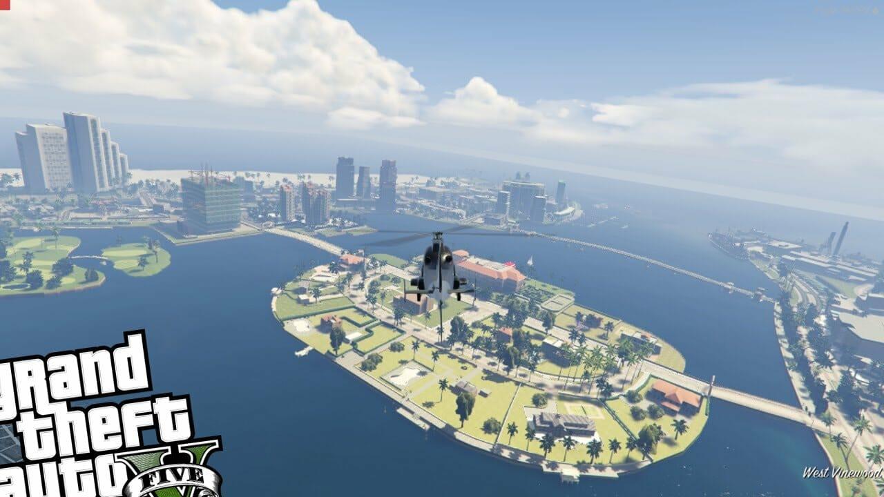 Gta  Liberty Island Mod