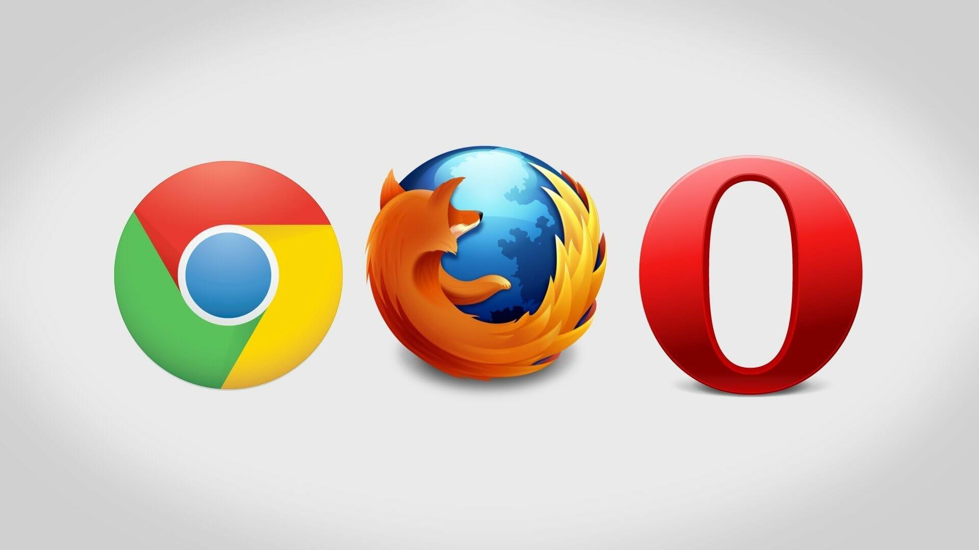 Google Chrome vs Mozilla Firefox vs Internet Explorer The