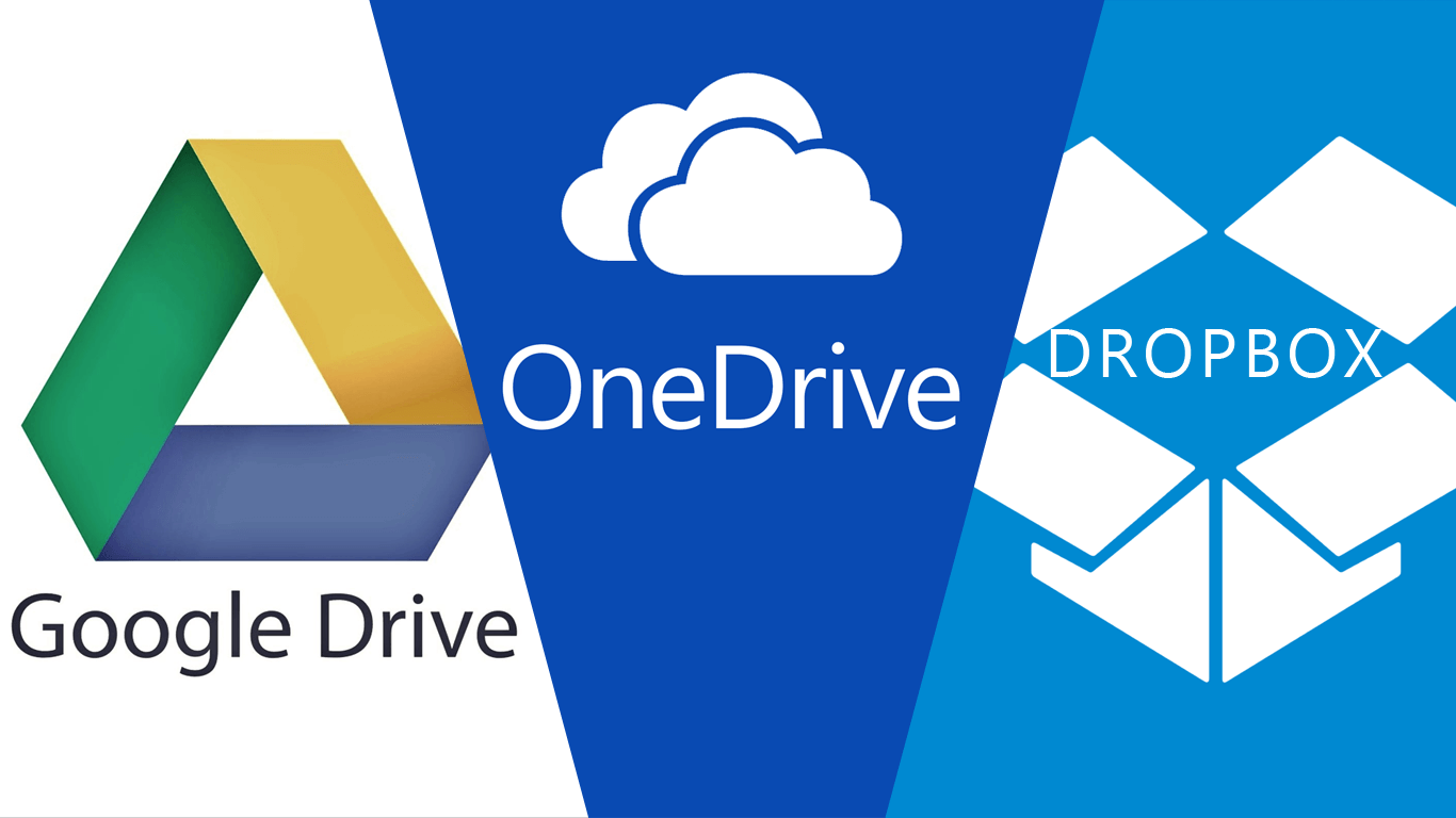Google Drive vs. OneDrive vs. DropBox - Which One Is Better?