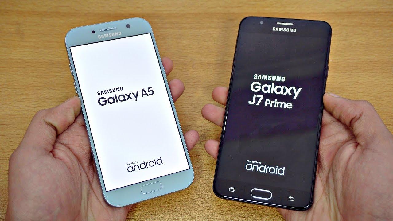 Samsung Galaxy J7 Prime Vs A5 2017 Processors Cameras And More