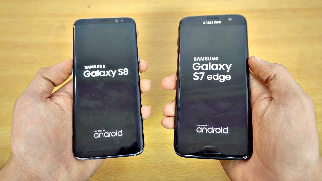 Samsung Galaxy S8 vs. Galaxy S7 Edge