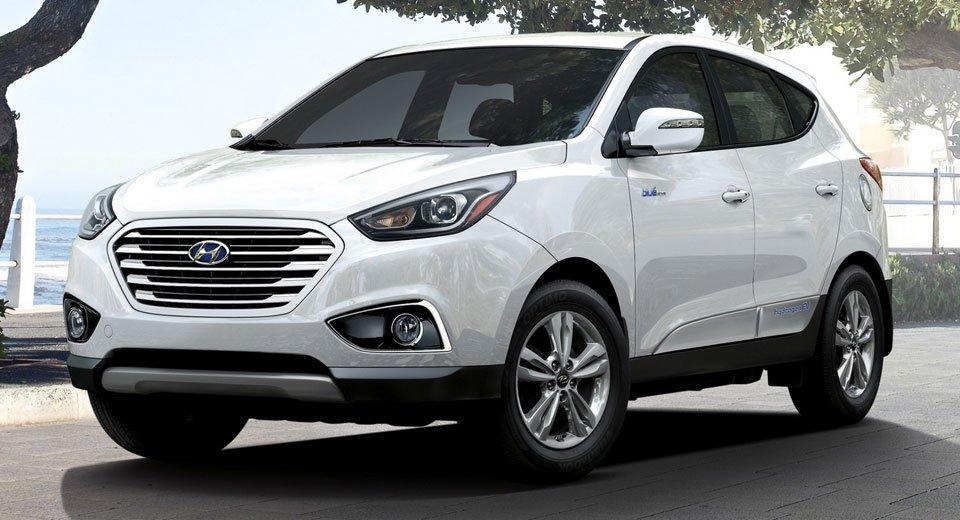 2019 Hyundai Hydrogen Fuel Cell Suv Leaks