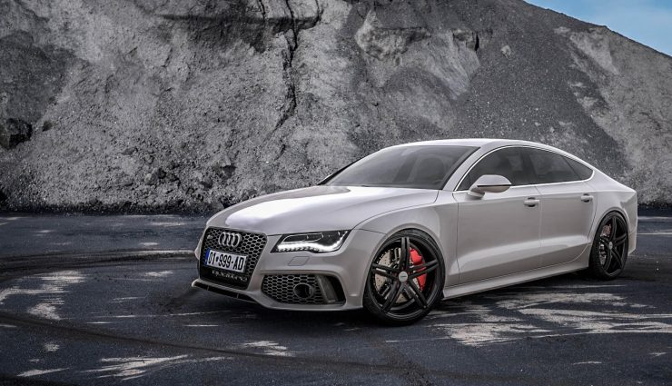 Audi Rs7 Sportback 2018 With V8 Engine Spotted On The Streets Of Spain