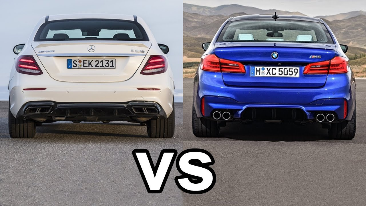 All new 2018 bmw m5 takes on mercedes benz e63 amg which for Bmw mercedes benz