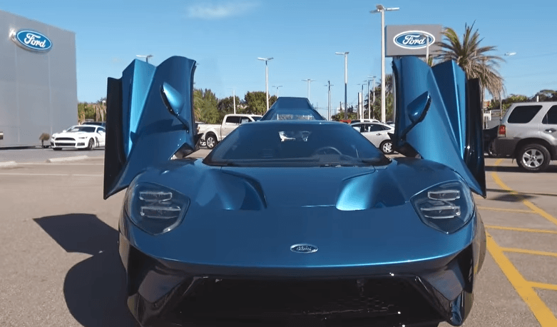 Ford sues WWE's John Cena for selling rare GT for profit