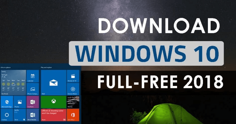 Download Windows 10 ISO - May 2018