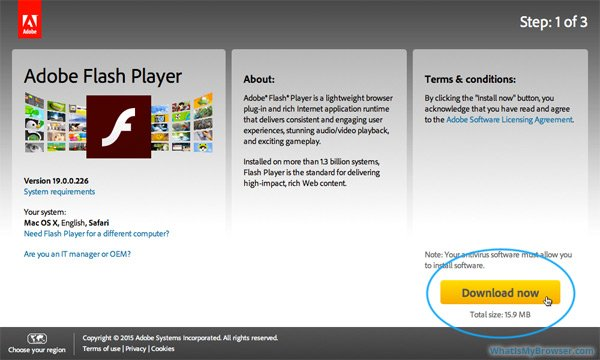 How to Install Adobe Flash Player for Mac
