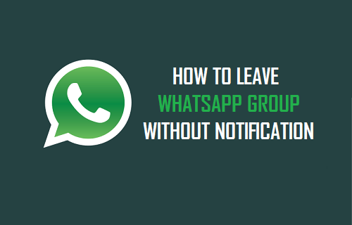 Leave WhatsApp Group Without Seen (2018)