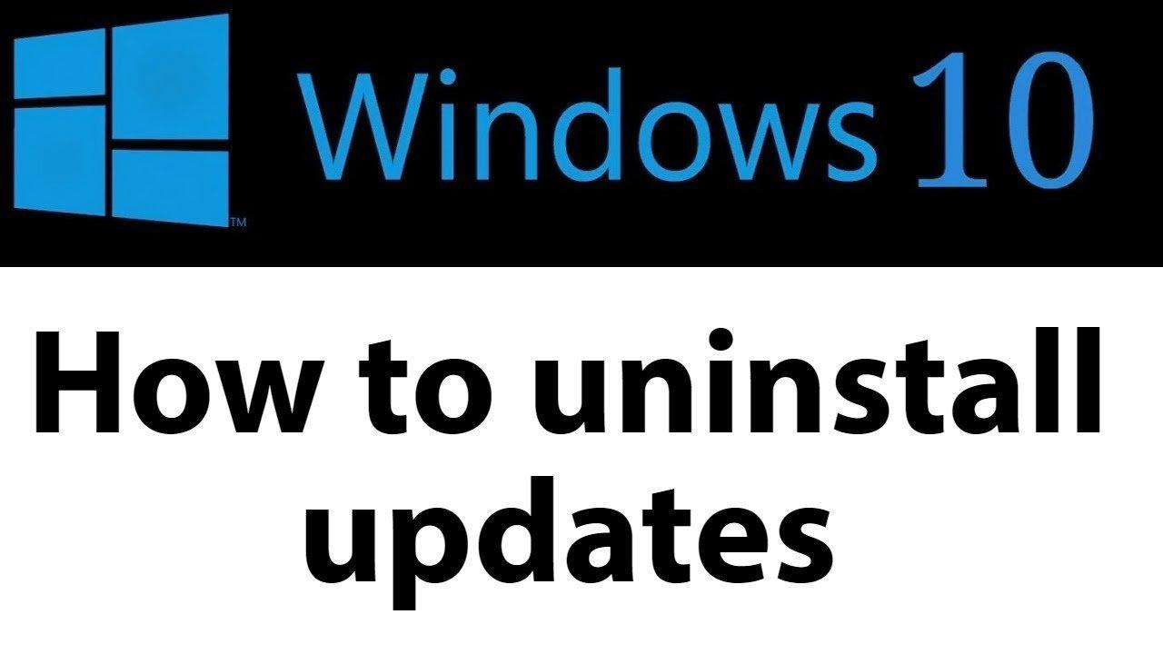 Remove Windows 10 Upgrade in 2018