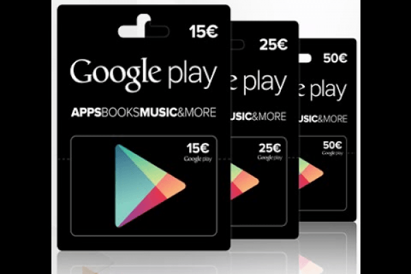 Transfer Google Play Credits to another account 2018