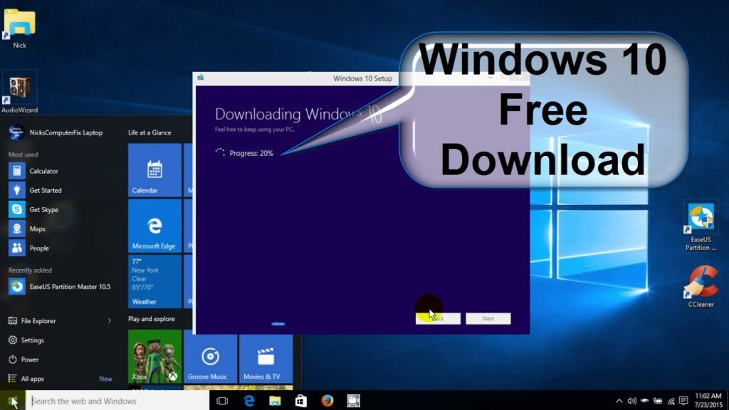 download windows 10 version 1709