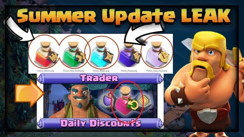 clash of clans update leak?