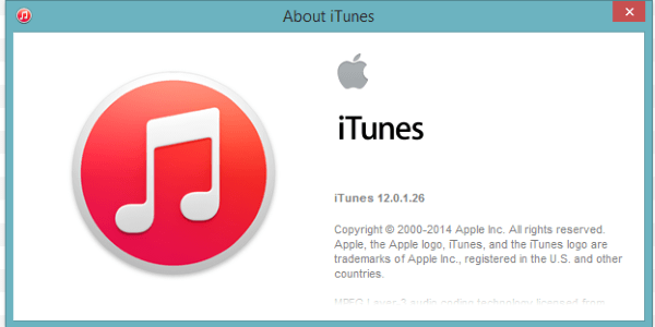 ancienne version itunes 12.1