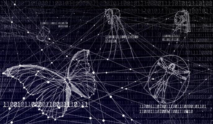 Art in blockchain tech